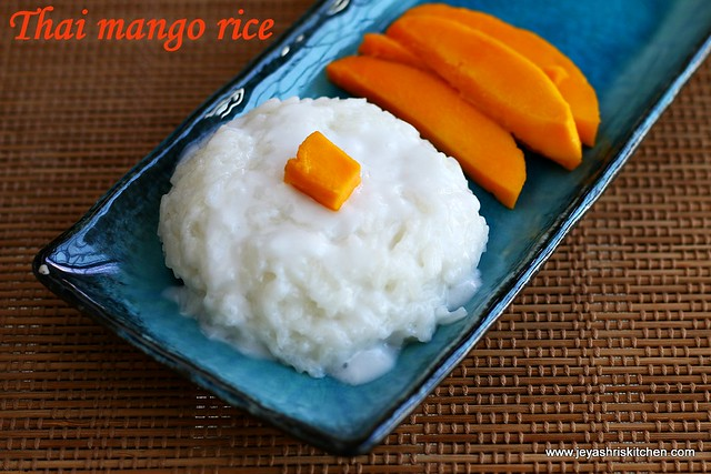 thai-sticky mango rice