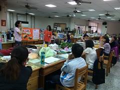 老師們為木棉樹開會討論。圖片來源:劉慧玲