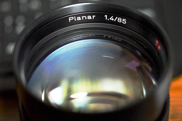 Carl Zeiss Planar 85mm F1.4 AEG