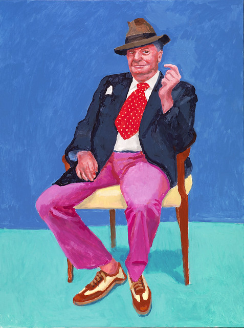 David Hockney Barry Humphries