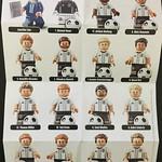 LEGO 71014 DFB German National Football Team liste