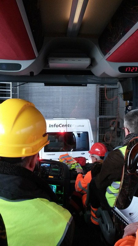 28.4.2016 - Frühlingsanlass RG Zentralschweiz / Nordwestschweiz / Ticino - Besuch ATG NEAT-Baustelle Amsteg