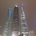 Tallest buildings in Shanghai at Night