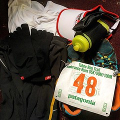 Todo listo! All set! #trt100 #ultramarathon #trt100m #witl #run #tahoerimtrailenduranceruns