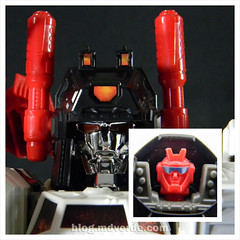 Transformers Metroplex - Generations Titan SDCC Exclusive - modo robot vs Scamper