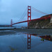 Golden Gate Bridge Reflections