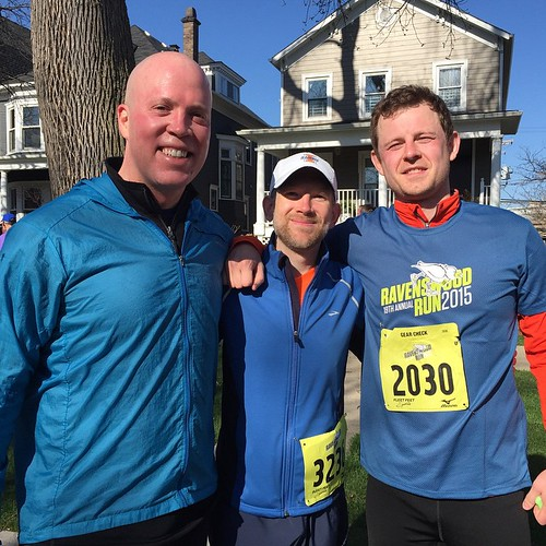 Jeff Judge, Tim Grace, Julian Rockwood - Ravenswood Run 2015