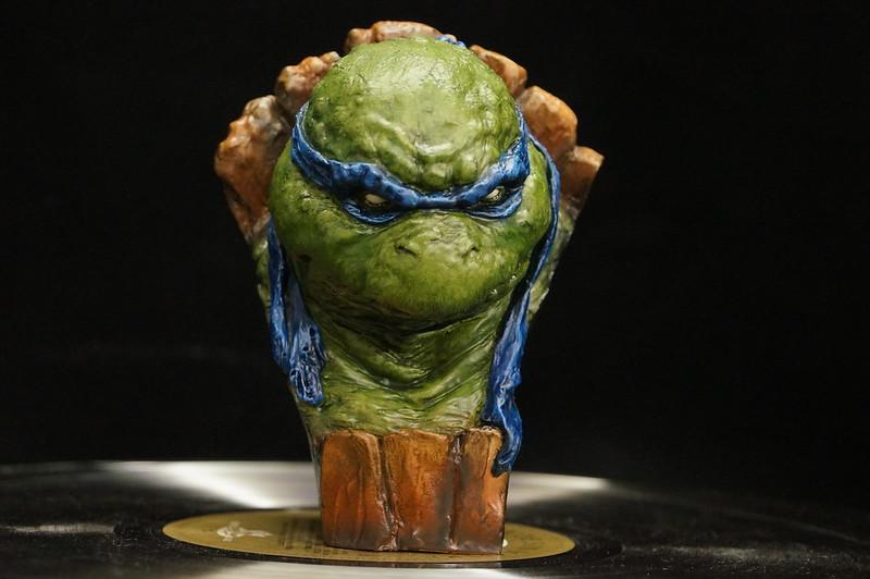 1/4 TMNT sculpté par Cyril Roquelaine 16692290964_d437b7be5e_c