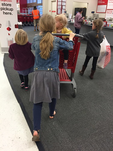 target with four