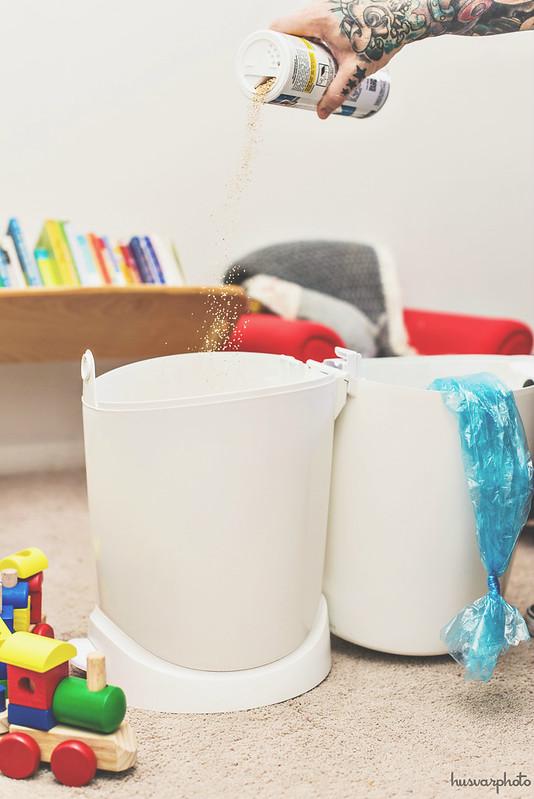 #ZepSocialstars diaper pail odor elimination