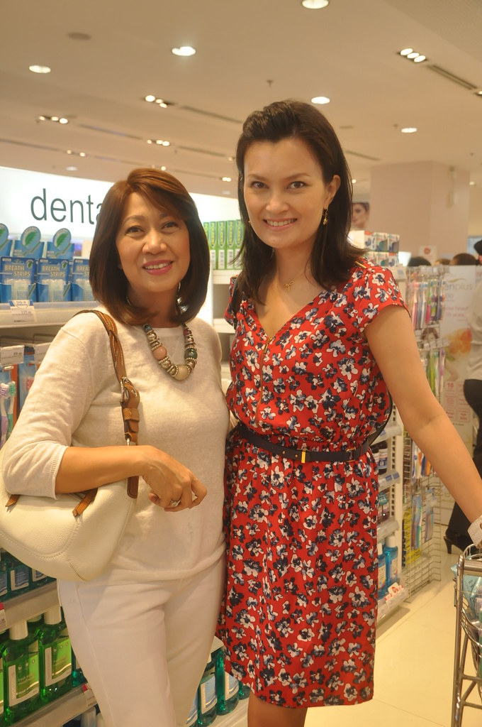 With Ms. Viki Encarnacion, Watsons Marketing Director