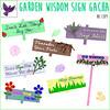 [ free bird ] Garden Wisdom Sign Gacha