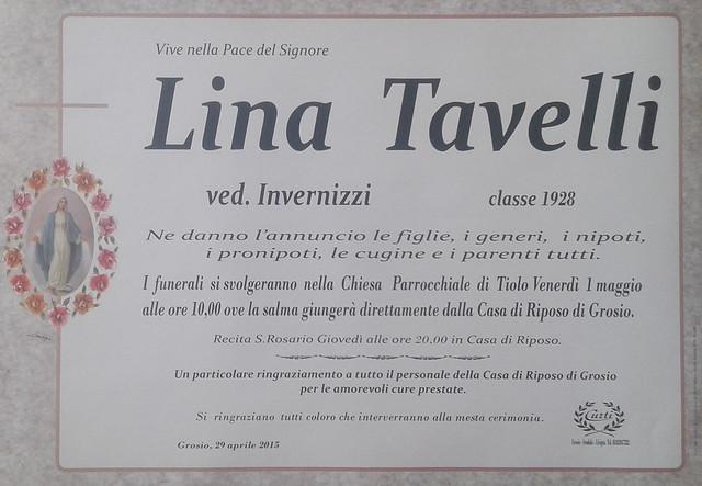 Tavelli Lina