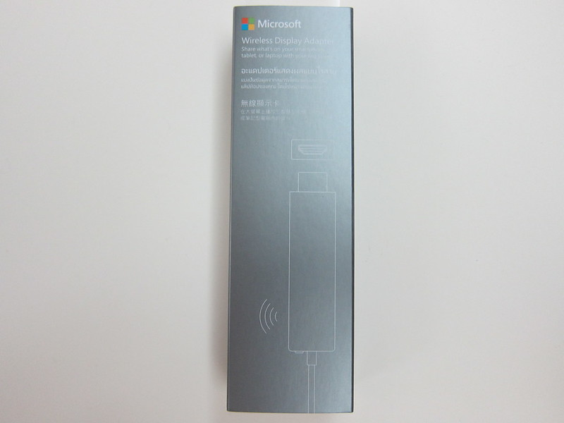 Microsoft Wireless Display Adapter - Box Front