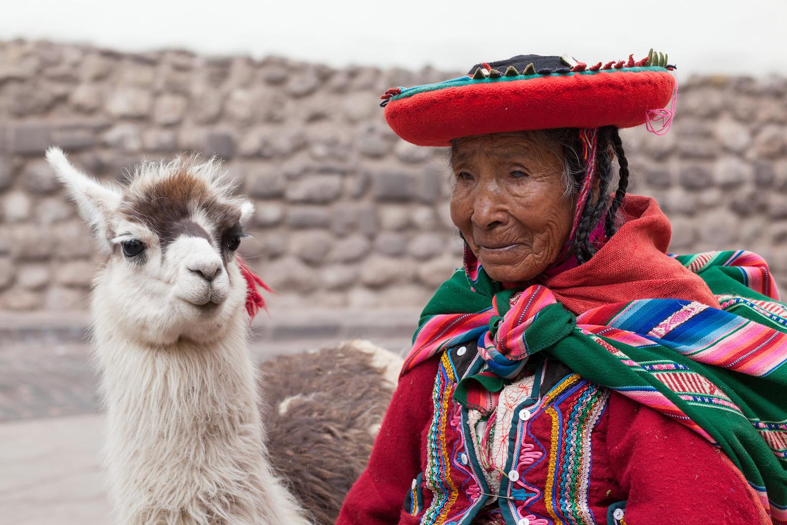 Everyone Loves a Llama, Cusco Portraits