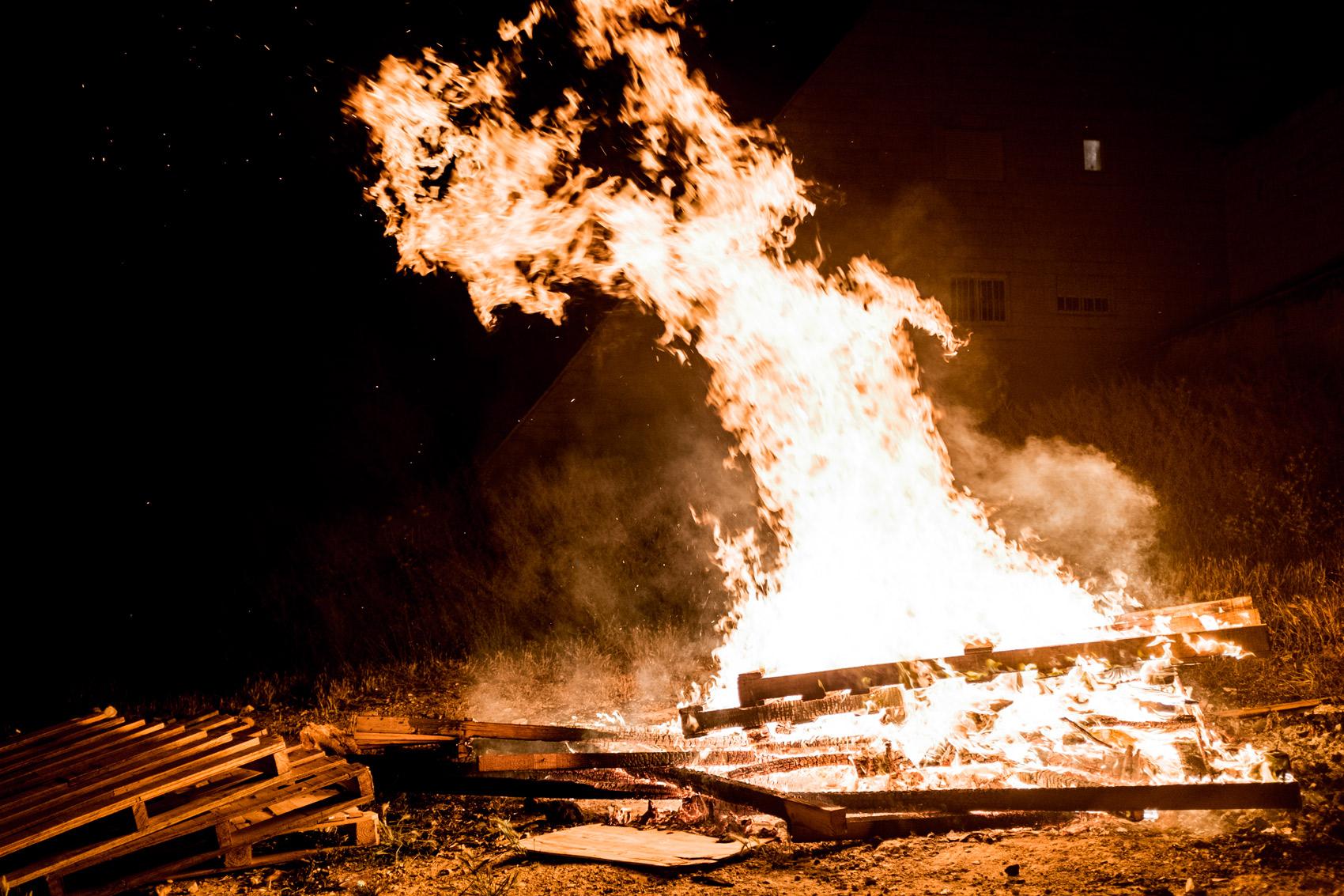 Lag ba-Omer fire