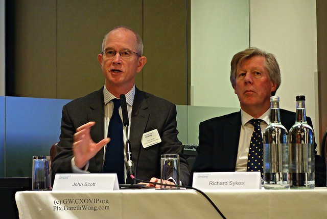 John Scott CRO @Zurich Insurance, Richard Sykes PwC at Tomorrow's Risk Leadership report panel from RAW _DSC8520