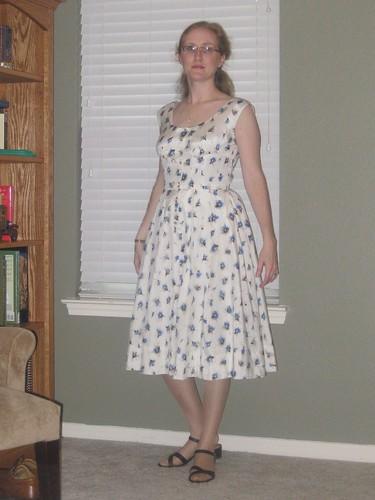 1954 Dress - Front - V2960
