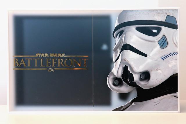 Star Wars Battlefront custom PS4 box