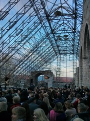 NTW (Norwegian Travel Workshop) opening at the 'Glascathedral', Hamar, Hedmark, Norway
