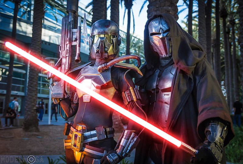 Shae Vizla and Sith Acolyte at Celebration Anaheim