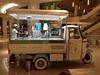 A vintage ice cream car