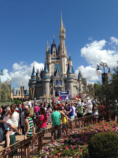 Cinderella's Castle, Magic Kingdom WDW