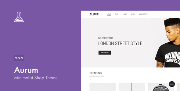 Aurum v2.8 – Minimalist Shopping Theme