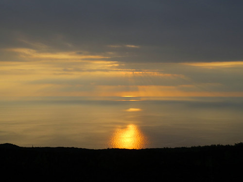 sunset clouds hawaii pacificocean bigisland highway11 hawaiibeltroad