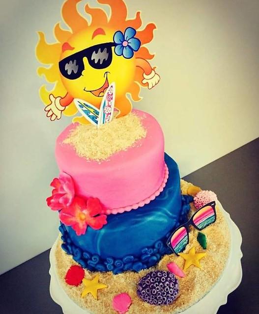 Summer Cake by Ann Sofy