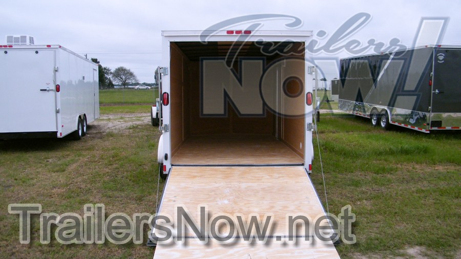 Trailers For Sale 6 X 12 Tandem Axle Single Enclosed