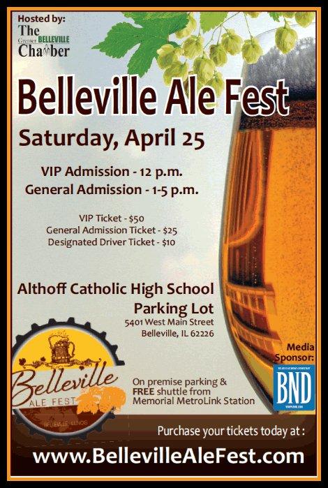Belleville Ale Fest 4-25-15