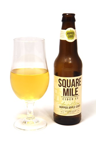 Square Mile Cider Co Spur & Vine Hopped Apple Cider