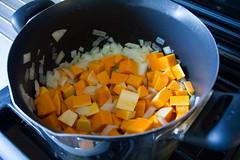 Curry Butternut Squash Soup