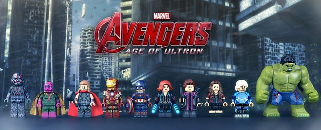 Lego Avengers Age Of Ultron Upgraded Minifigures