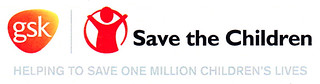 GSK and Save the Children logos