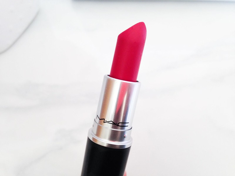 Mac All Fired Up Swatch and Review