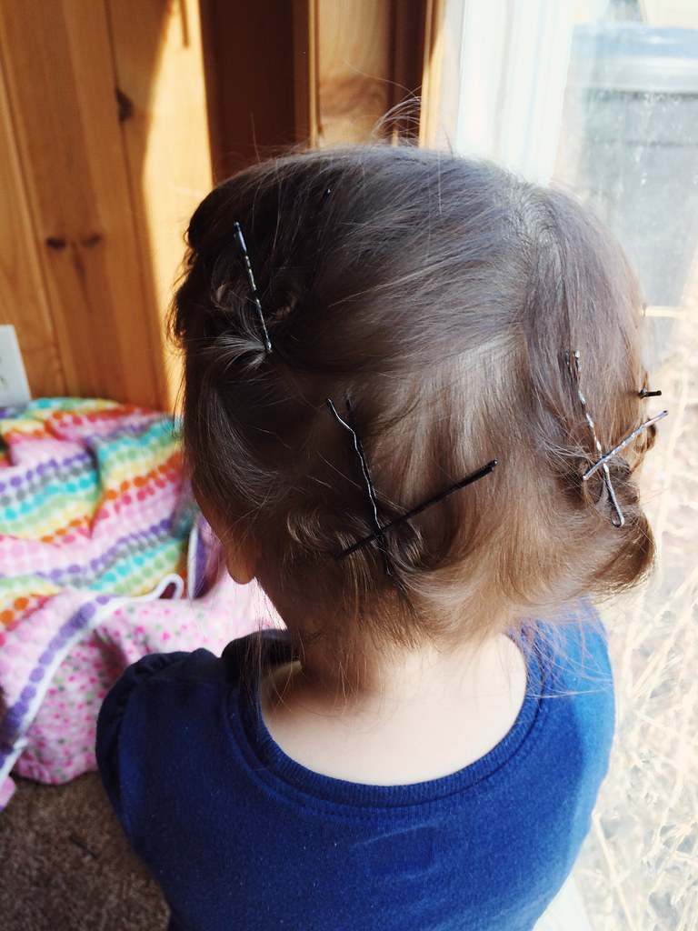 Toddler Curls!