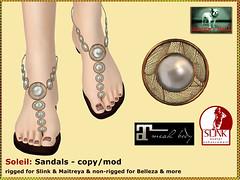 Bliensen - Soleil - Sandals for Slink & Maitreya Kopie