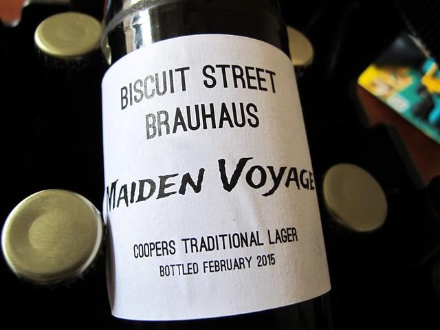 Biscuit Street Brauhaus - Maiden Voyage