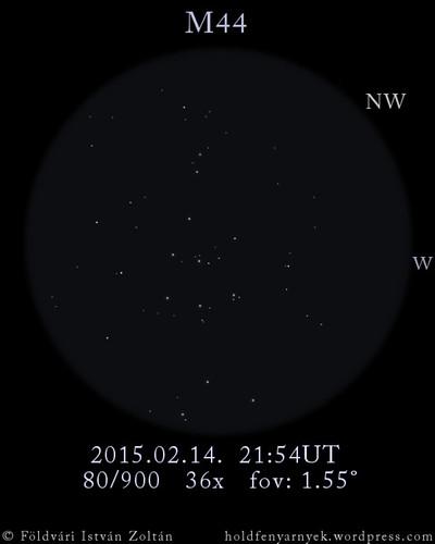 VCSE - Messier 44 - Földvári István Zoltán