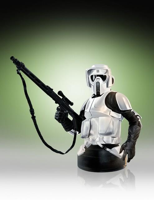 Gentle Giant 星際大戰【帝國斥侯兵】Scout Trooper 1/6 比例 半身胸像