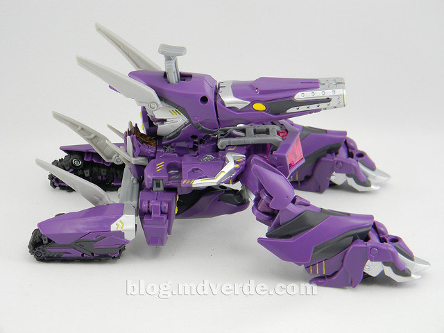 Transformers Shockwave Voyager - Generations SDCC Exclusive (Shockwave's Lab) - modo alterno
