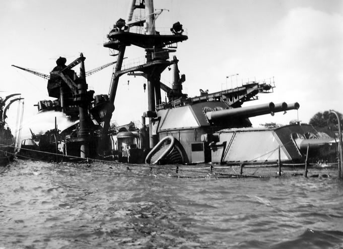 USS Arizona Battleship Pearl Harbor BB-39