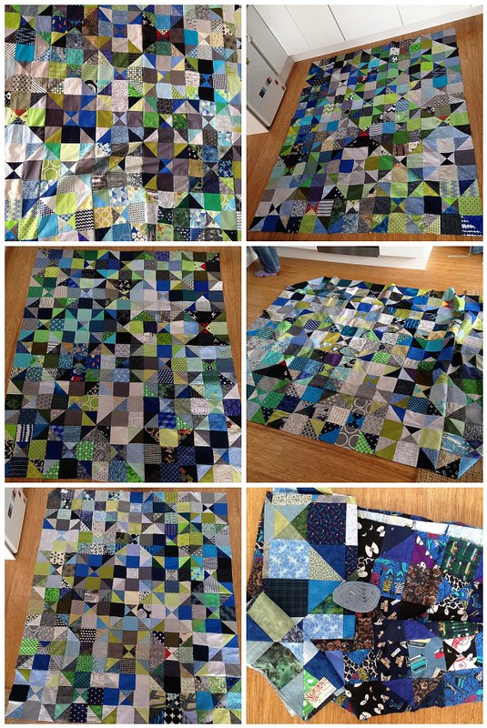 Siblings Together Quilt Tops