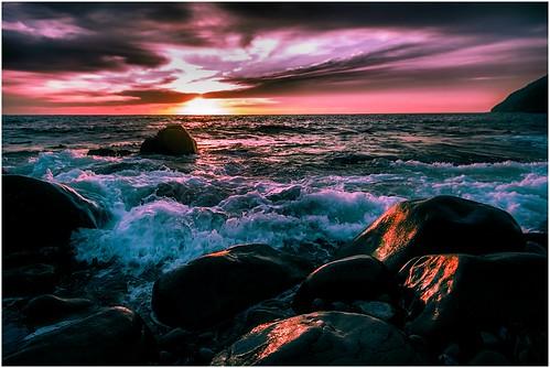 ocean sea water sunrise rocks waves australia tasmania mariaisland mariaislandnationalpark earlylighting canoneos550d sigma816 trainsintasmania stevebromley tasmaniancoastalscenary