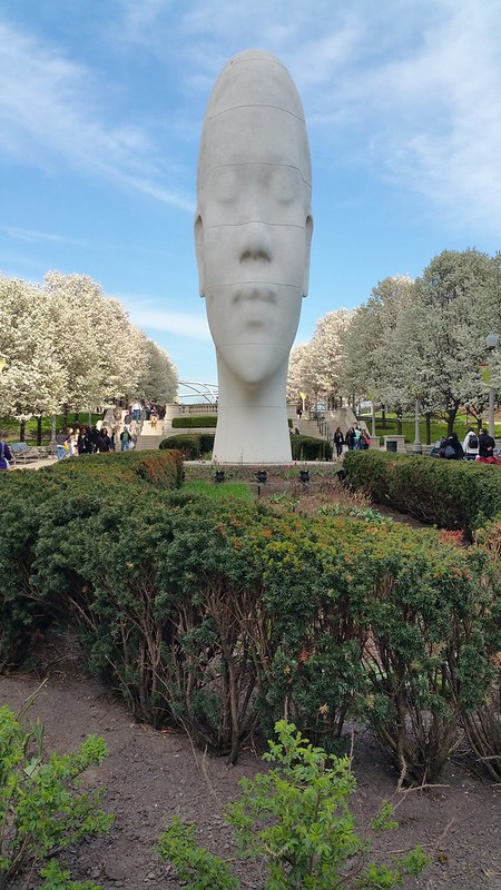 Looking Into My Dreams, Awilda by Jaume Plensa (Chicago)