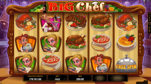 Big Chef Free Spin
