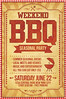 BBQ / Barbecue Flyer