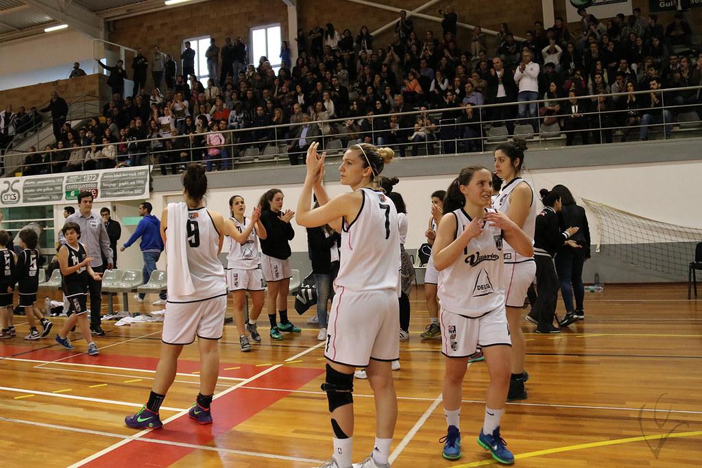 Basquetebol Feminino: Vitória SC 56-69 Carnide (Fase Final 2ª divisão)